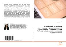 Bookcover of Advances in Linear Stochastic Programming