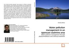 Water pollution management in an opencast coalmine area kitap kapağı