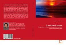 Capa do livro de Transitional Justice