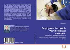 Employment for people with intellectual disabilities的封面