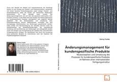 Обложка Änderungsmanagement für kundenspezifische Produkte