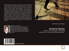 Bookcover of Uncanny Spaces