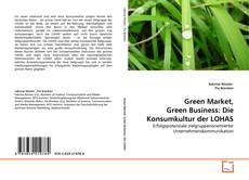 Capa do livro de Green Market, Green Business: Die Konsumkultur der LOHAS