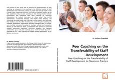 Buchcover von Peer Coaching on the Transferability of Staff Development