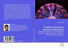 Обложка Studies in Quantum Statistical Mechanics
