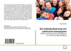 Couverture de Die Individualisierung von politischen Kampagnen