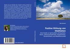 Buchcover von Positive Wirkung von Meditation