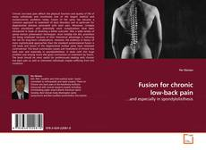 Обложка Fusion for chronic low-back pain