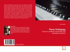 Bookcover of Piano Pedagogy