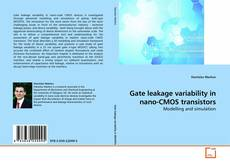 Bookcover of Gate leakage variability in nano-CMOS transistors