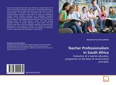 Copertina di Teacher Professionalism in South Africa
