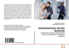 ORGANIZATIONAL BUYING BEHAVIOR的封面
