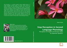 Bookcover of Stop Perception in Second Language Phonology