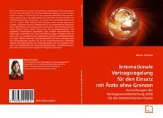 Bookcover of Internationale Vertragsregelung für den Einsatz mit Ärzte ohne Grenzen