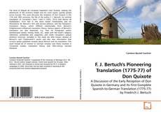 Bookcover of F. J. Bertuch's Pioneering Translation (1775-77) of Don Quixote