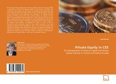 Bookcover of Private Equity in CEE