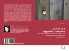 Gewalt und Aggression verstehen kitap kapağı