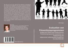 Buchcover von Evaluation von Präventionsprogrammen