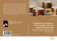 Portada del libro de Fundamental changes in bank strategy after the global financial crisis