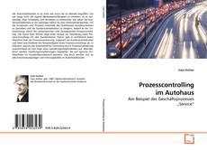 Prozesscontrolling im Autohaus kitap kapağı