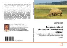 Bookcover of Environment and Sustainable Development in Nepal