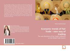 Capa do livro de Economic trends of Fair Trade – new way of trading