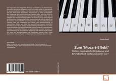 """Buchcover von Zum """"Mozart-Effekt"""""""