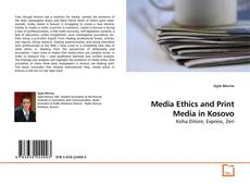 Buchcover von Media Ethics and Print Media in Kosovo