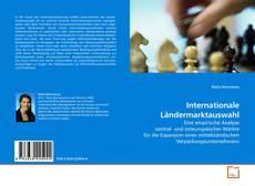 Capa do livro de Internationale Ländermarktauswahl
