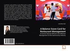 Bookcover of A Balance Score Card for Restaurant Management