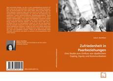 Capa do livro de Zufriedenheit in Paarbeziehungen