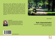 Park characteristics kitap kapağı