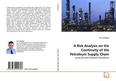 Copertina di A Risk Analysis on the Continuity of the Petroleum Supply Chain