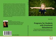 Copertina di Programs for Students with Emotional Disturbances