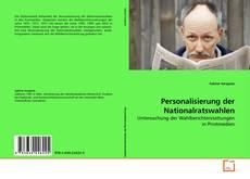 Bookcover of Personalisierung der Nationalratswahlen