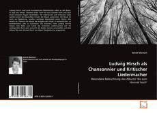 Copertina di Ludwig Hirsch als Chansonnier und Kritischer Liedermacher