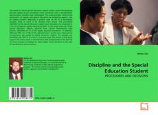 Buchcover von Discipline and the Special Education Student