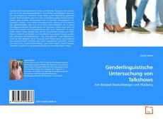 Bookcover of Genderlinguistische Untersuchung von Talkshows
