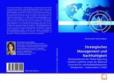 Capa do livro de Strategisches Management und Nachhaltigkeit