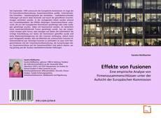 Buchcover von Effekte von Fusionen