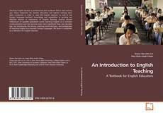 Bookcover of An Introduction to English Teaching