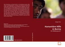 Обложка Humanitäre Hilfe in Burma