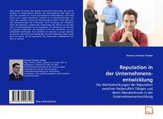Bookcover of Reputation in der Unternehmens- entwicklung