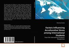 Copertina di Factors Influencing Acculturative Stress among International Students