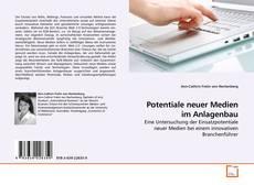 Buchcover von Potentiale neuer Medien im Anlagenbau