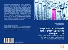 Computational Methods for Fragment Spectrum Interpretation的封面