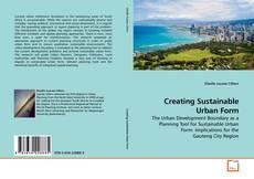Обложка Creating Sustainable Urban Form