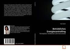 Buchcover von Betriebliches Energiecontrolling