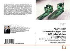 Capa do livro de Analyse der Jahresrechnungen von OTC gehandelten Gesellschaften