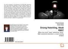 Bookcover of Strong Patenting, Weak R